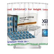 Xenical Will Help You To Be Back In Form Shower Curtain