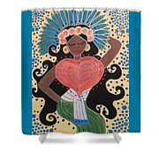 Xochiquetzal Shower Curtain