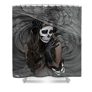 Who Will Want My Painful Soul 001 Shower Curtain