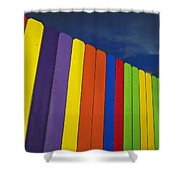 Xylophone Shower Curtain