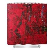 Xz67 Nebula Shower Curtain