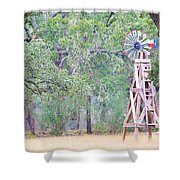 Ya035 Shower Curtain
