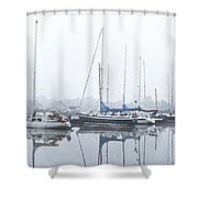 Yachting Club Shower Curtain