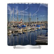 Yachts And Things Shower Curtain