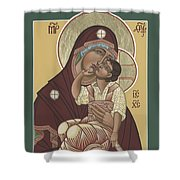 Yakhrom Icon Of The Mother Of God 258 Shower Curtain
