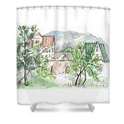 Yakornaya Schel Shower Curtain