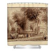 Yale University 1836 Shower Curtain
