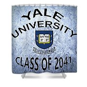 Yale University Class Of 2041 Shower Curtain