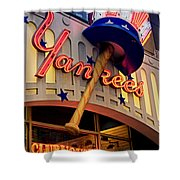 Yankee Clubhouse Shower Curtain by Joann Vitali