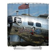 Yankee Lady Shower Curtain