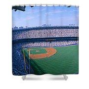 Yankee Stadium Ny Yankees V. Tampa Shower Curtain