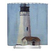 Yaqunia Head Lighthouse Shower Curtain