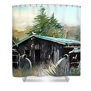 Yard Mates Shower Curtain