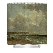 Yarmouth Pier Shower Curtain