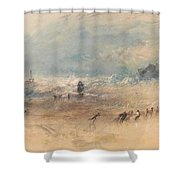 Yarmouth Sands Shower Curtain