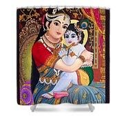 Yashoda  Krishna  Shower Curtain