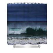 Yawning Wave Shower Curtain