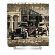Ybor City Prop Cars Shower Curtain