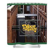 Ybor Square Shower Curtain
