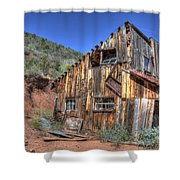 Ye Old Ford Building Shower Curtain