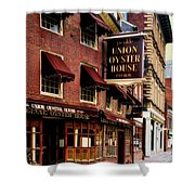 Ye Olde Union Oyster House Shower Curtain