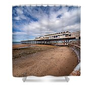 Ye Olde Victoria Pier Shower Curtain