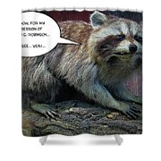Yeah See Shower Curtain