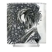 Year Of The Horse Shower Curtain