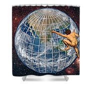 Yearning To Breathe Free Shower Curtain