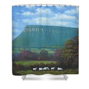 Yeats Country With Benbulben Shower Curtain