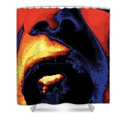 Yeller, No. 1 Shower Curtain