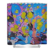 Yello Pods Shower Curtain