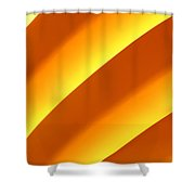 Yellow  Shower Curtain