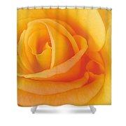 Yellow Blend Shower Curtain