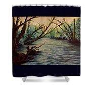 Yellow Breeches Creek Pennsylvania Shower Curtain