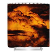Clouds Time Shower Curtain