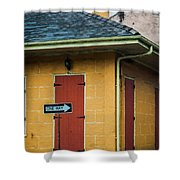 Yellow Cottage French Quarter- Nola Shower Curtain