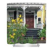 Yellow Daisies In Charleston Shower Curtain