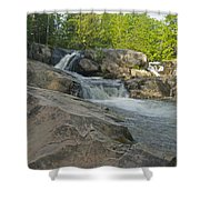 Yellow Dog Falls 4213 Shower Curtain