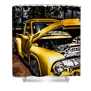 Yellow Fever  Shower Curtain