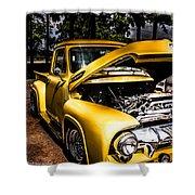 Yellow Fever  Shower Curtain by Kim Loftis