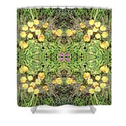 Yellow Flower Photo 1492 Composite Shower Curtain