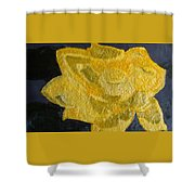 Yellow Lilac On The Pond Shower Curtain