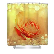 Yellow Rose And Joy Shower Curtain