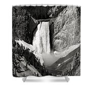 Yellowstone 143 Shower Curtain