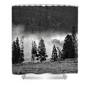Yellowstone 157 Shower Curtain