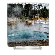 Yellowstone Colors #2 Shower Curtain