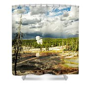 Yellowstone Colors #3 Shower Curtain