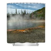 Yellowstone Colors #5 Shower Curtain