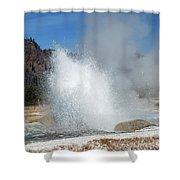 Yellowstone Features  Shower Curtain